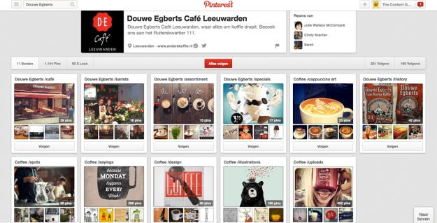 Pinterest -Douwe Egberts Cafe