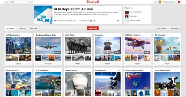 Pinterest - KLM