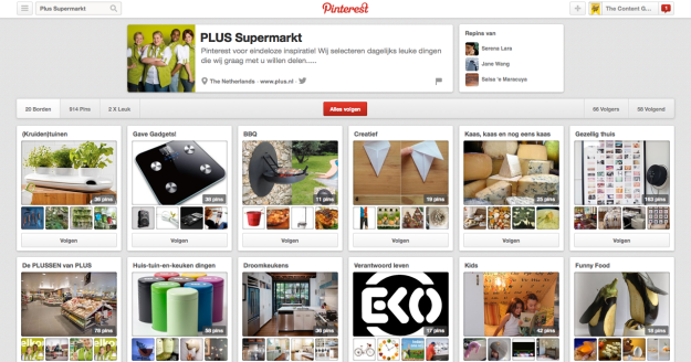 Pinterest - Plus Supermarkt