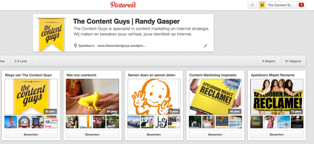 Pinterest - The Content Guys